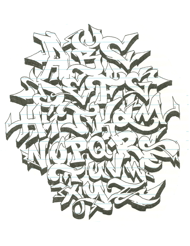 Street Alphabet Competition Design Entry By Safe Don T Panic