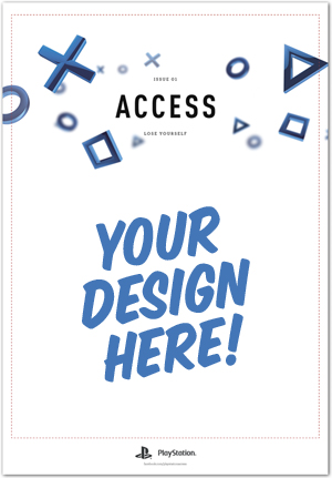PlayStation Access Cover Star