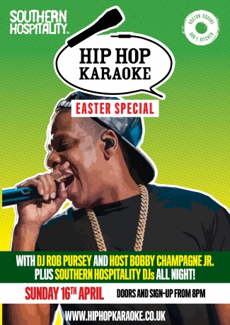 Hip Hop Karaoke Easter Bank Holiday Special