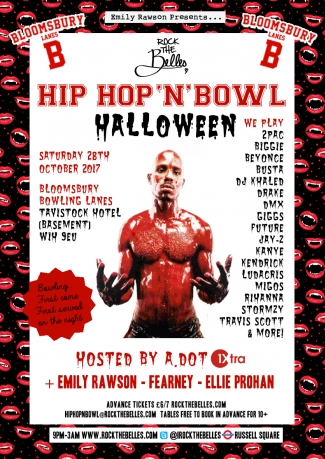 Rock The Belles x Hip Hop'N'Bowl x Halloween