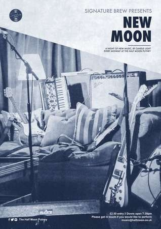 New Moon - A Night of New Music, Half Moon Putney, London, Mon Jul 1