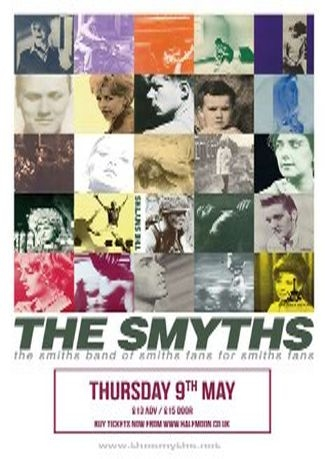 The Smyths play The Best of The Smiths @ Half Moon Putney London Sun 30 Jun