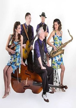 The Swing Commanders for Sunday Lunch 19th July at Hideaway Jazz Club