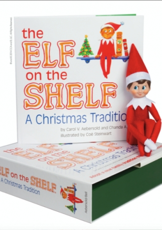 Elf On The Shelf at Hamley's