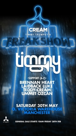 Timmy Trumpet presents: FREAKSHOW