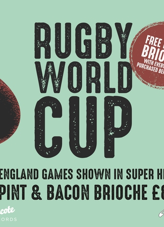 Rugby World Cup: England vs Tonga // Showing Live in Battersea
