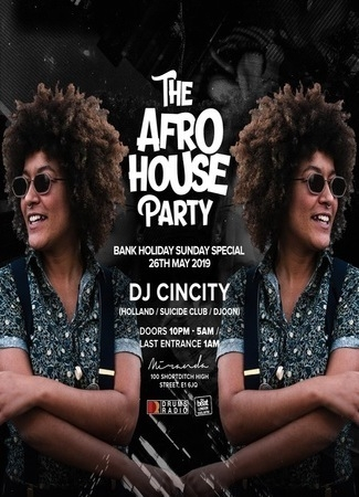 The Afro House Party Bank Holiday Special