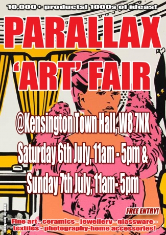 Parallax Art Fair 26th Edition in July 2019