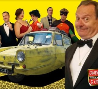 Only Fools and 3 Courses - Cheltenham 24/01/2020
