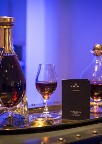 The Martell Suite at Mondrian - A unique Cognac experience with Martell