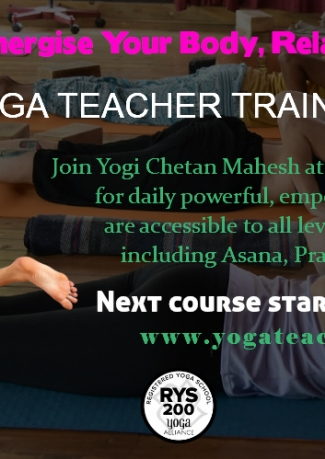 200-Hour Vinyasa Iyengar Yoga Teacher Training in Goa