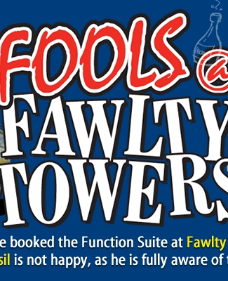 Fools @ Fawlty Towers Christmas Special Dinner Isle of Wight 12/12/2020