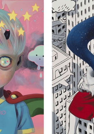 Millo & Hikari Shimoda Double Solo Exhibition