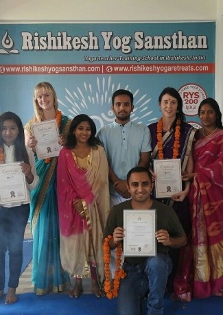 500 Hour Hatha and Ashtanga Yoga Teacher Training In Rishikesh
