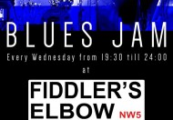 BLUES JAM @ THE FIDDLERS ELBOW @ Fiddler's Elbow