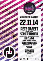 Overrated presents 'A night in the basement' @ Plan B