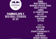 1.7 Fabriclive x Red Bull Studios // Mike Skinner, Murkage, Klose One... @ Fabric