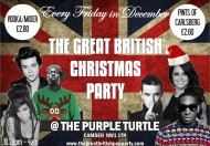 The Great British Christmas Party @ Purple Turtle