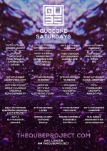 QubeOne presents Electronic Sessions + Lost & Found @ Qube