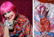 Zandra Rhodes Unseen @ Fashion and Textile Museum