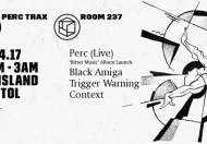 Room 237 presents Perc 'Bitter Music' album launch @ The Island
