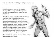 Life Drawing Classes at Lacey Contemporary @ Lacey Contemporary Gallery