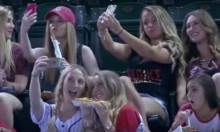 Baseball Commentators Rip On Sorority Girls Taking Selfies At Game