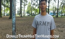 This Hilarious Ad Mocks Donald Trump's Allegedly Tiny Hands