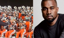 Marching Band Performs Kanye West's Father Stretch My Hands