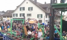Swiss Carnival Float Rollercoaster