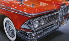 Vintage Cars Painted