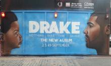 Our Drake Mural