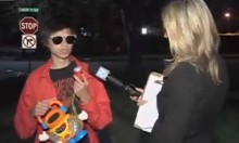 Teen Gives Interview With Toy Microphone After Throwing Illegal Party