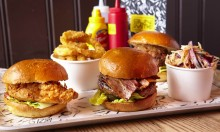 Burgers! BBQ! Beer! From Bunsmiths At The Sebright Arms