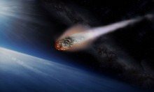 'Huge asteroid' is actually just a massive spliff