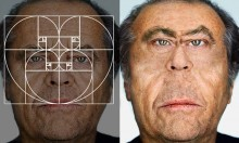 Distorting Famous Faces With The 'Golden Ratio'