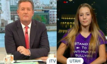 Piers Morgan Clashes With 12 Year Old Big Game Hunter, Comes Across Surprisingly Well