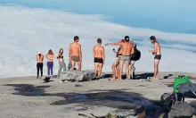 When Naked BANTER On A Mountain Goes Wrong