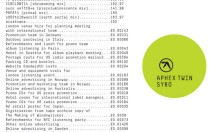 Listen To The New Aphex Twin Album Here!