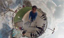 A 360° Video using 6 GoPro Cameras
