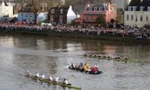 BREAKING NEWS: Migrant Boat Invades Oxford Vs. Cambridge Race!