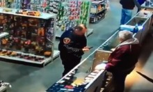 Dumb Cop Shoots Finger Off In A Gun Store Like An Idiot