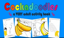 Cockadoodles, A Dick Pic Colouring In Book