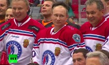 Watch Putin Clean Up In Totally Not Fixed Ice Hockey Game