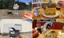 Aug(De)Mented Reality: A Fusion of Cel Animation and iPhone Photography