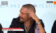 Tom Hardy SHUTDOWN Reporter At Cannes