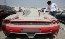 Luxury Cars Forgotten in Dubai