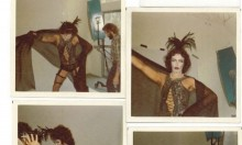 Someone Found Polaroids Of The Rocky Horror Cast On The Subway