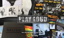 Play Loud - Rock Out on Spotify and WIN