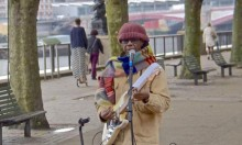 Did You See Nile Rodgers Busking On Southbank?